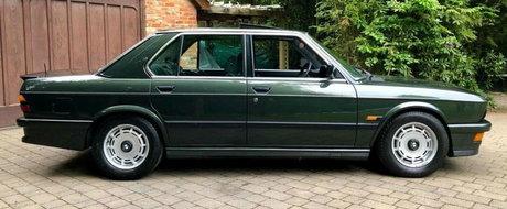Asta trebuie sa fie BMW-ul perfect: a avut un singur proprietar iar in ultimii 30 de ani a fost tinut in garaj
