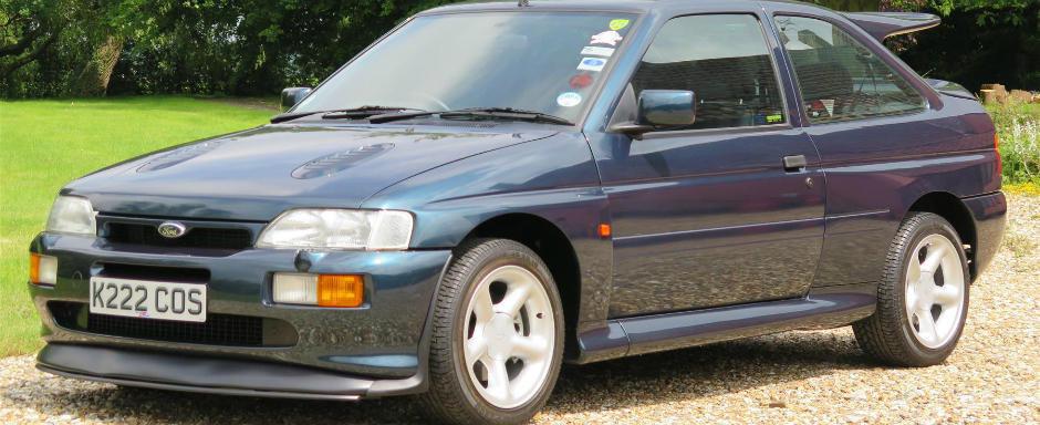 Asta trebuie sa fie cel mai bine pastrat Ford Escort Cosworth din lume. Si este de vanzare.
