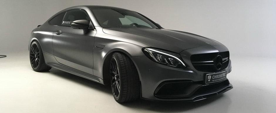 Asta trebuie sa fie cel mai discret pachet de tuning dezoltat pentru Mercedes-ul C63 AMG
