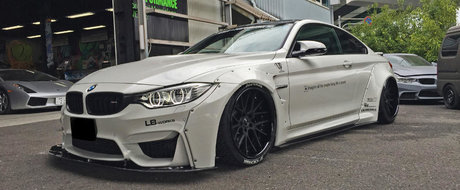 Asta trebuie sa fie cel mai tare body-kit pentru BMW-ul M4. Ati ghicit, este semnat de Liberty Walk
