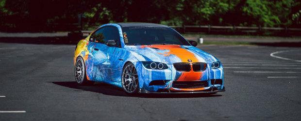 Asta trebuie sa fie unul dintre cele mai infierbantate BMW-uri M3. La figurat vorbind, desigur