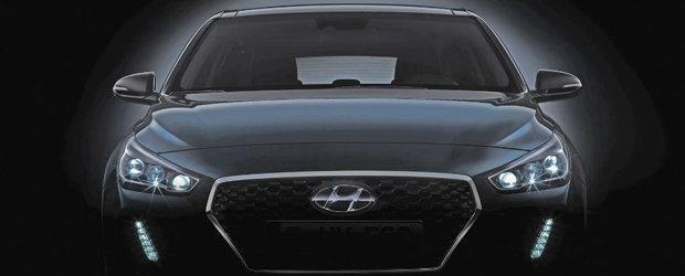 Astea sunt primele poze oficiale cu noul Hyundai i30. Modelul este asteptat sa debuteze la Salonul Auto de la Paris