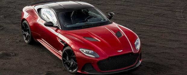 Aston Martin a lansat oficial noul DBS Superleggera: 725 de cai sub capota si 0-100 in 3.4 secunde