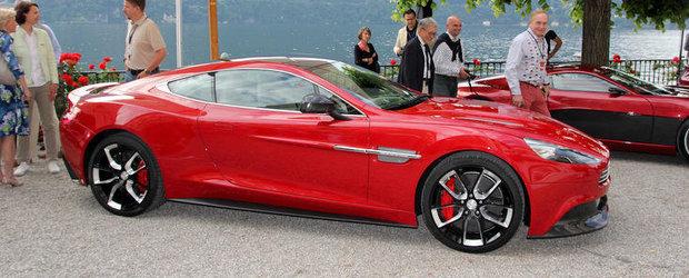 Aston Martin AM 310 - Succesorul modelului DBS, prezent la Villa d'Este