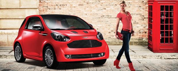 Aston Martin Cygnet are de gand sa intre in productie