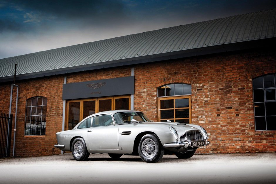 Aston Martin DB5 Bond Car