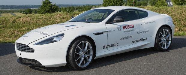 Aston Martin DB9 hibrid, dezvoltat impreuna cu Bosch