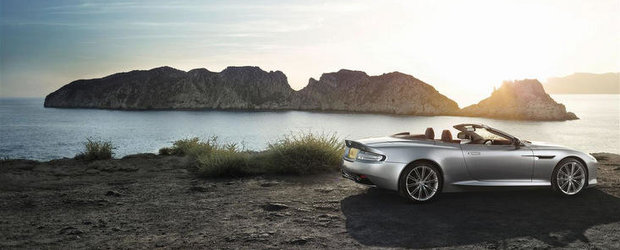 Aston Martin DB9 primeste imbunatatiri estetice, plus 510 cai putere