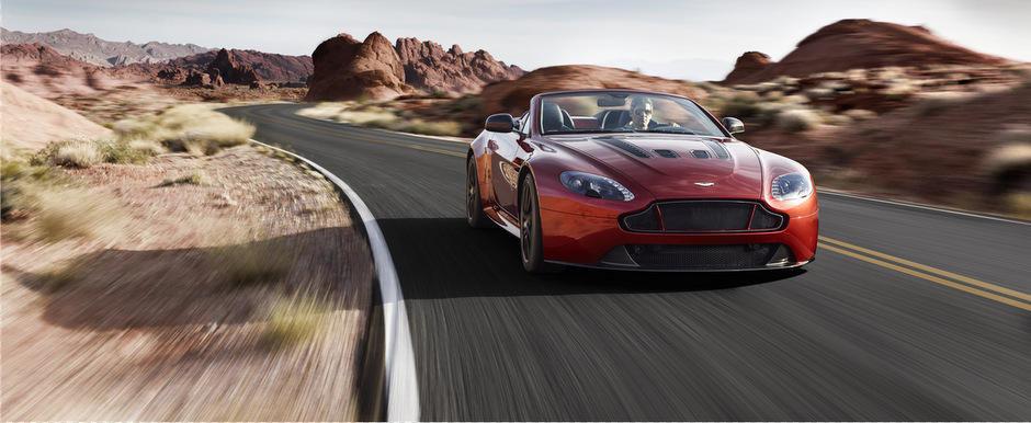 Aston Martin dezvaluie cel mai potent si rapid Roadster din istoria sa
