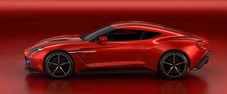 Aston Martin dezvaluie conceptul Vanquish Zagato la Villa d'Este