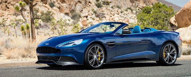 Aston Martin dezvaluie noul Vanquish Volante