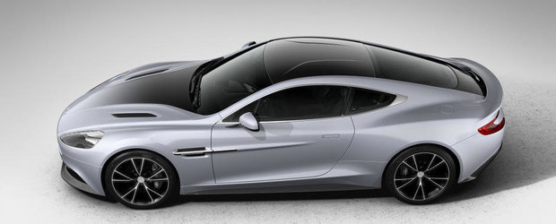 Aston Martin lanseaza editia speciala Vanquish Centenary Edition