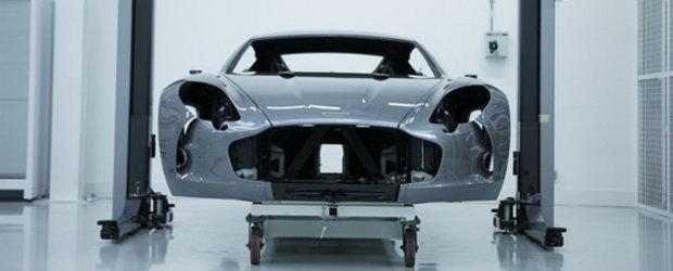 Aston Martin One-77 - Arta in miscare!