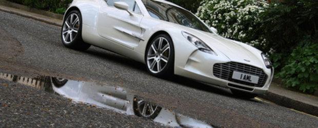 Aston Martin One-77 cucereste Londra!
