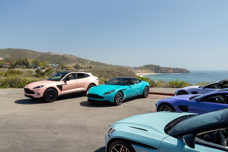 Aston Martin Pastel Collection - Aston Martin Pastel Collection