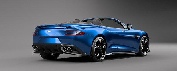 Aston Martin prezinta cel mai frumos Vanquish S Volante de pana acum