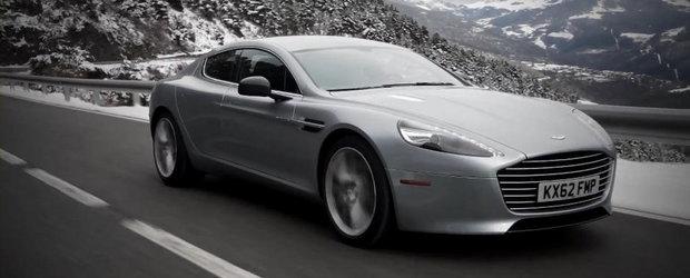 Aston Martin prezinta in actiune si detaliu noul Rapide S