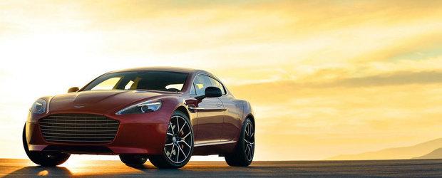 Aston Martin Rapide primeste un S, plus 550 cai putere
