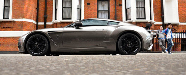 Aston Martin reduce productia modelului V12 Zagato la 101 exemplare