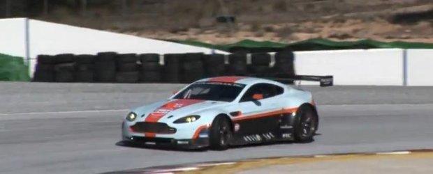 Aston Martin revine in Le Mans cu Vantage V8
