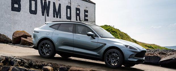 Aston Martin si Bowmore isi unesc din nou fortele. Fa cunostinta cu noul DBX Bowmore Edition