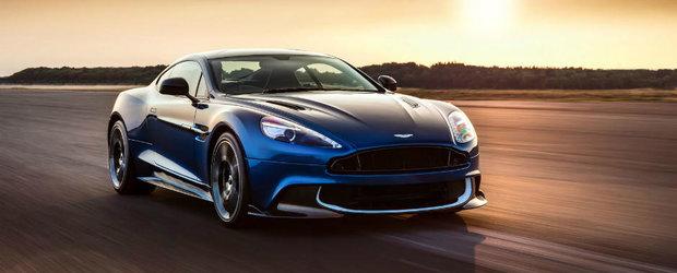 Aston Martin stie cum sa fure toate privirile. Britanicii aduc in lumina reflectoarelor Vanquish S