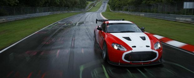 Aston Martin V12 Zagato, gata pentru o noua provocare - Cursa de 24 Ore de la Nurburgring