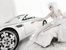Aston Martin V8 Vantage Blanc de Blancs by Graf Weckerle
