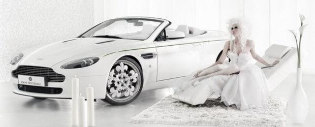 Aston Martin V8 Vantage by Graf Weckerle - Socant, exclusivist, capodopera sau kitsch?