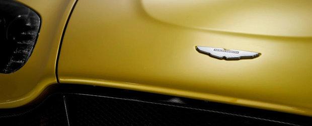Aston Martin va folosi in continuare motoare Ford