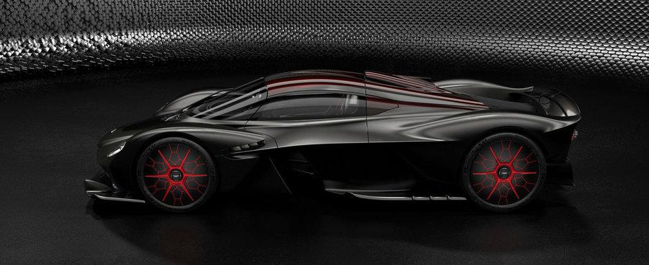 Aston Martin Valkyrie: uite cum isi pot configura bogatii planetei noua jucarie de 3 milioane de euro