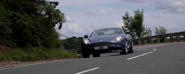 Aston Martin Vanquish trece la o cutie automata cu opt viteze