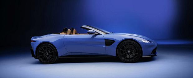 Aston Martin Vantage Roadster lansat cu plafon textil care se pliaza in 6.7 secunde. Este cel mai rapid soft top din industrie