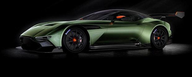 Aston Martin Vulcan debuteaza oficial, cu 800+ CP sub capota