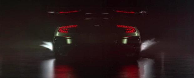 Aston Martin Vulcan isi face incalzirea pentru Geneva Motor Show