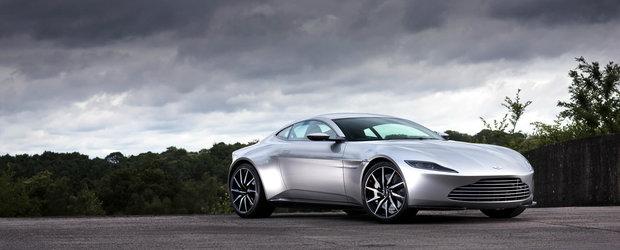 Aston-ul condus de James Bond in Spectre iese la licitatie