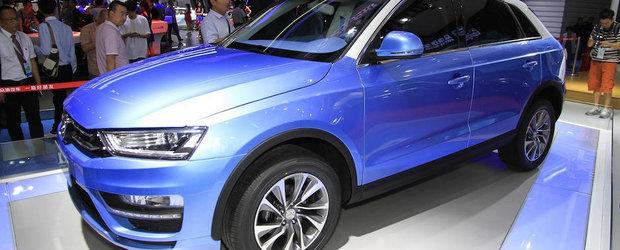 Atacul Clonelor: Noul Zotye S21 copiaza cu nerusinare Audi Q3