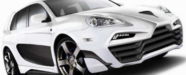 Atacul rusilor: Porsche Cayenne by Status Design