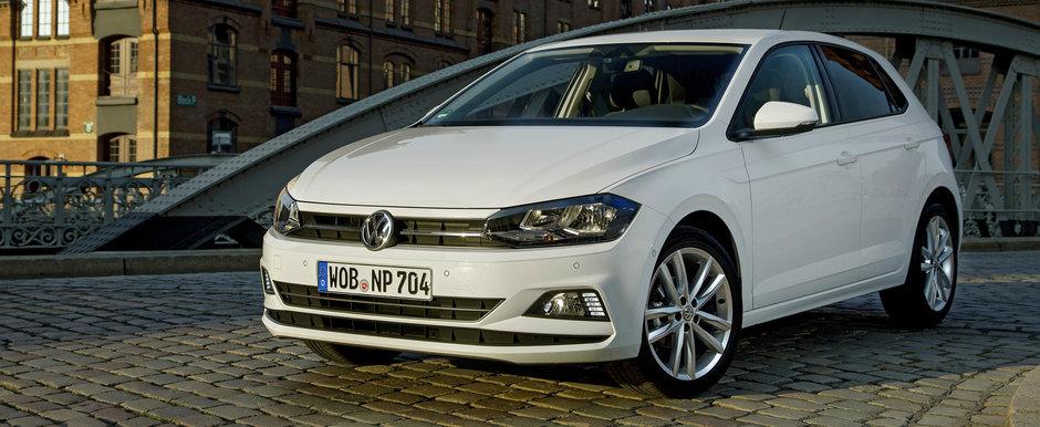 Atentie, ca se duce la vale! VW recheama in service 1.600 de unitati POLO in Romania din cauza franei de mana