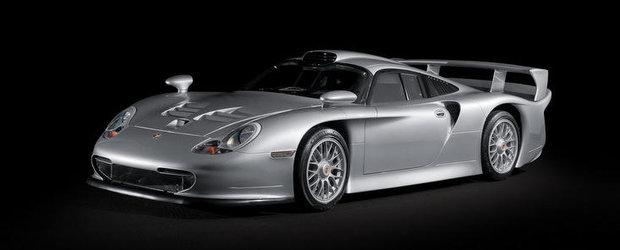 Atentie milionari! Se scoate la vanzare un exemplar al modelului Porsche 911 GT1!