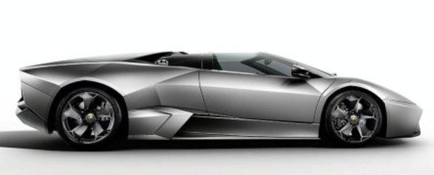 Atentie! Noul Lamborghini Reventon Roadster tocmai a... aterizat!