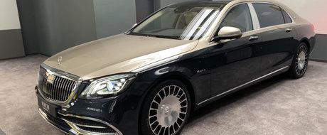 Atentie, OPULENTA! Numai vopseaua acestui Mercedes-Maybach este mai scumpa decat o DACIE noua