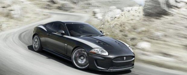 Atentie, pisica rea : Jaguar XKR 75... zgarie rau!