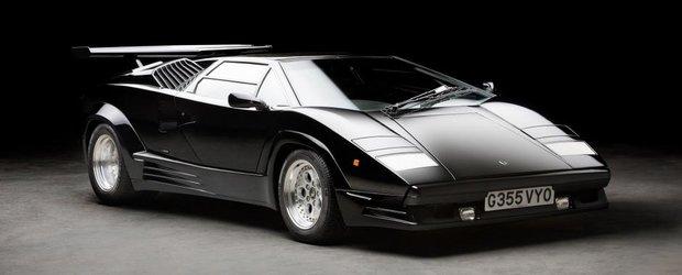 Atentie, se vinde un Lamborghini Countach 25th Anniversary Edition cu 0 KM la bord!