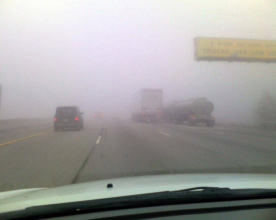 ATENTIE SOFERI! Cod galben de ceata in Romania!