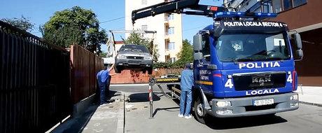 ATENTIE, SOFERI! De azi se ridica masinile parcate neregulamentar! Cat costa sa o recuperezi?