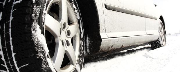 Atentie, soferi! Iarna se apropie si incepe sezonul pneurilor de iarna. Ce trebuie sa stim!