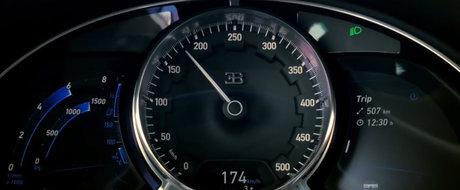 Atinge 380 km/h mai repede decat poti rosti Tatal Nostru. Test de acceleratie cu noul Bugatti de 1500 CP