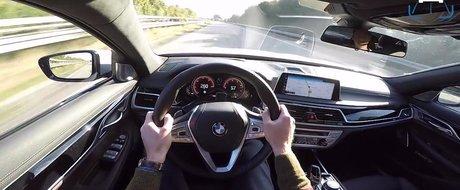 Atinge niste viteze de-a dreptul naucitoare. Test pe Autobahn cu primul automobil quad-turbodiesel din lume