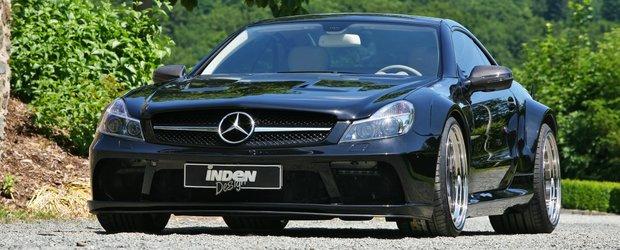 Atractia Safirului Negru: Mercedes SL63 AMG by Inden Design